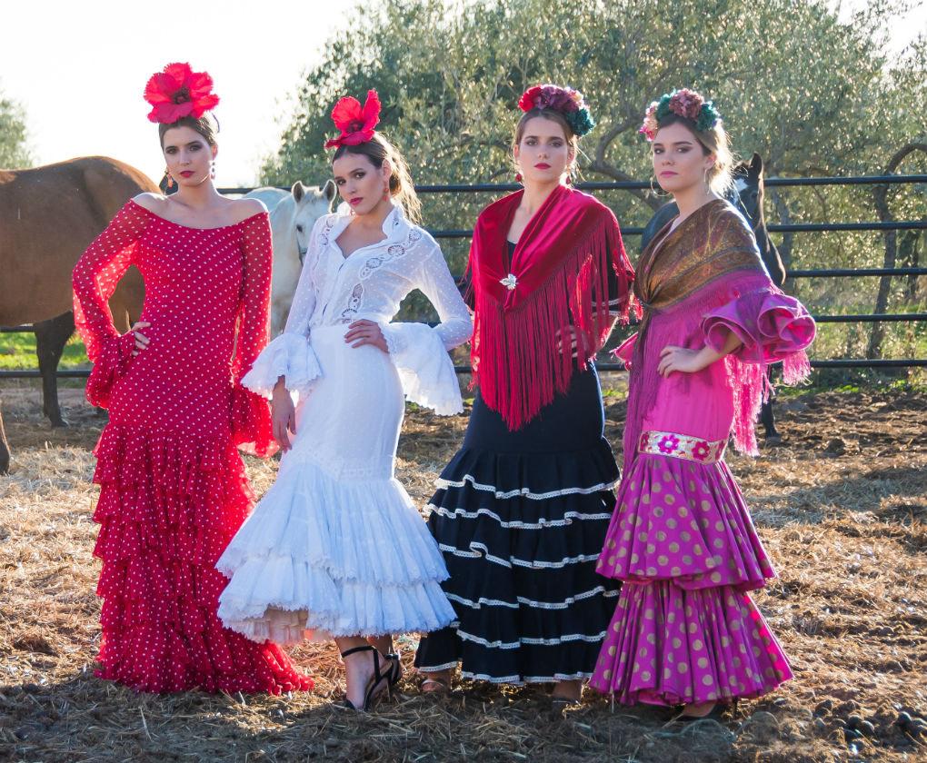 evolucion traje de flamenca actual