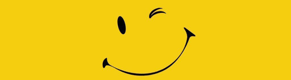 Fondo Amarillo con una sonrisa