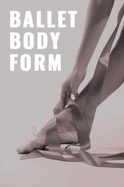 STEPS ON ZOOM Poster Ballet Body Form