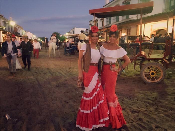 vestido romeria